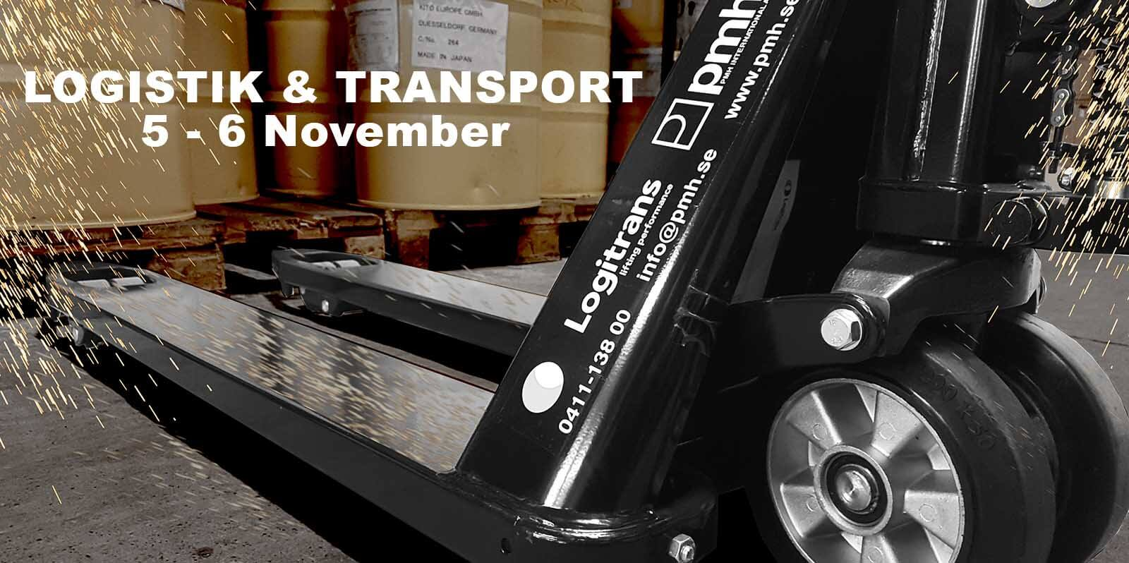 Logistik & Transport i Göteborg 5-6 November 2019